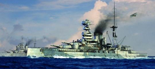 Trumpeter - HMS Barham 1941