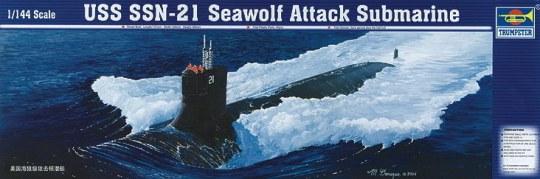 Trumpeter - U-Boot USS SSN-21 Seawolf