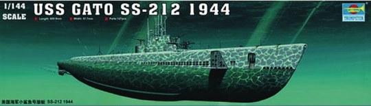 Trumpeter - USS GATO SS-212 1944