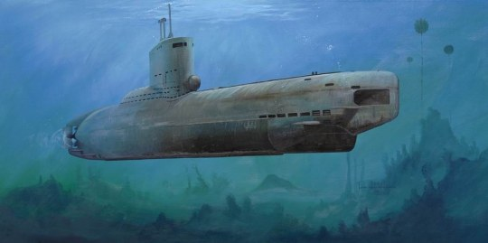 Trumpeter - German Type XXIII U-Boat