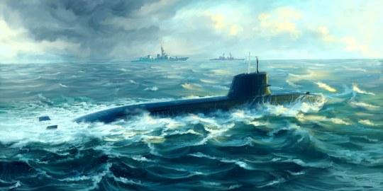 Trumpeter - Japanese Soryu Class Attack Submarine