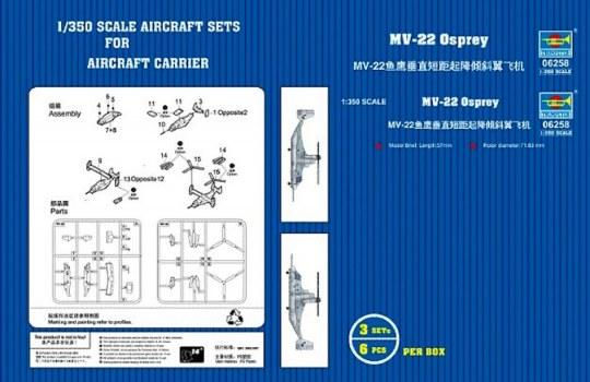 Trumpeter - MV-22 Osprey V/STOL tiltrotar aircraft