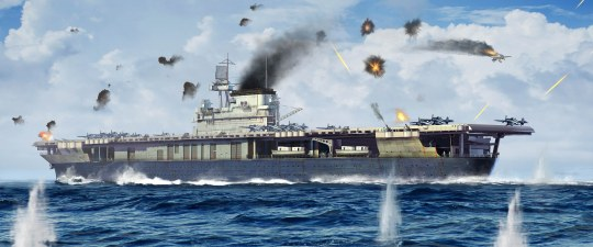 Trumpeter - USS Yorktown CV-5