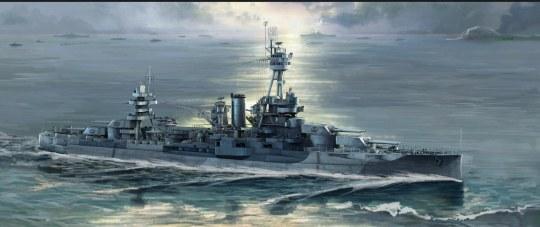Trumpeter - USS New York BB-34