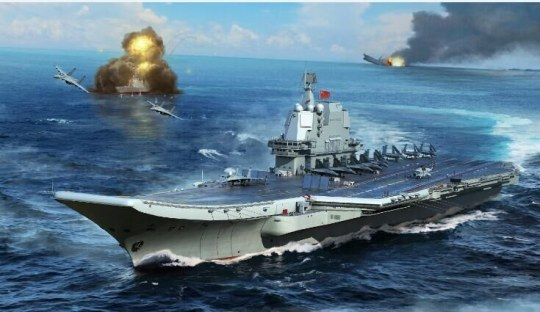 Trumpeter - PLA Navy type 002 Aircraft Carrier