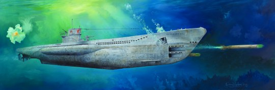 Trumpeter - DKM U-Boat Type VIIC U-552