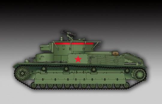 Trumpeter - Soviet T-28 Medium Tank (Welded)