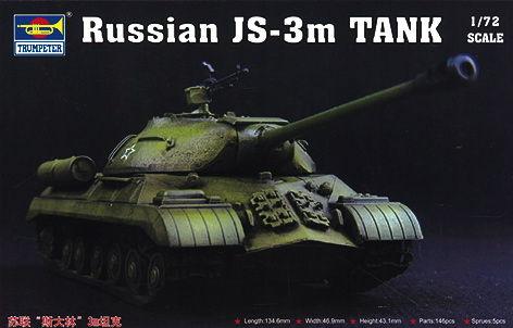 Trumpeter - Russian JS-3m Tank