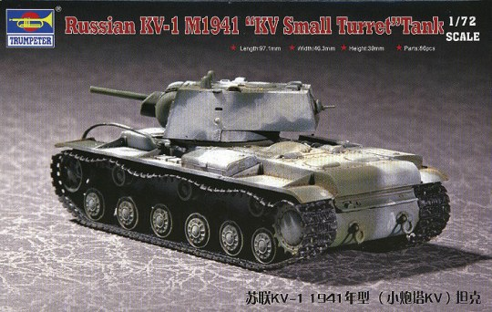 Trumpeter - Russian KV-1 M1941 ''KV Small Turret'' Tank