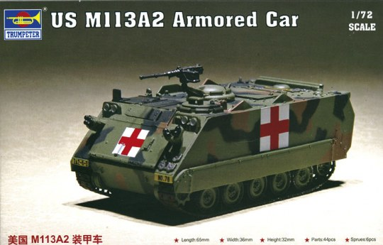 Trumpeter - US M113A2 Armored Car