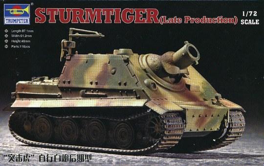 Trumpeter - ''Sturmtiger''Assault Mortar (Late Type)