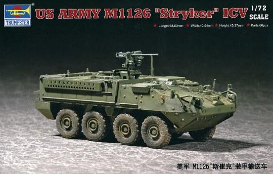 Trumpeter - ''Stryker'' Light Armored Vehicle (ICV)