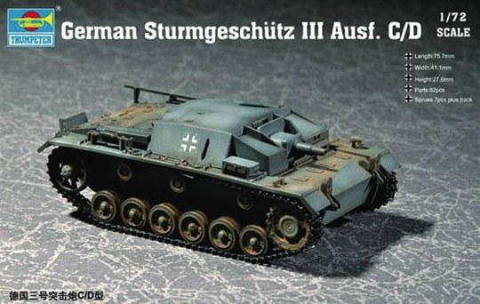 Trumpeter - German Sturmgeschütz III Ausf. C/D