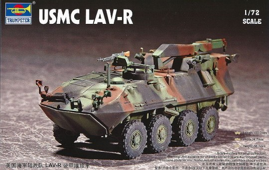Trumpeter - USMC Light Armored Vehicle-Recovery