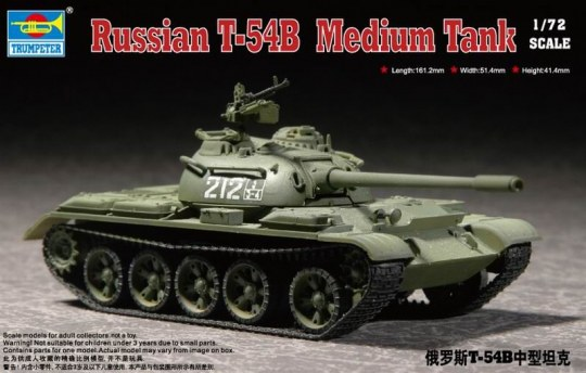 Trumpeter - Russian T-54B  Medium Tank