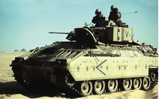 Trumpeter - M2A0 Bradley Fighting Vehicle