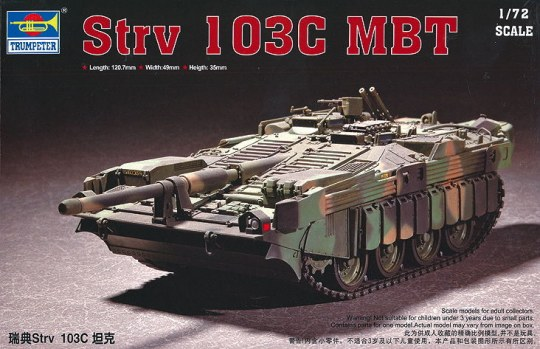 Trumpeter - Swedish Strv 103C MBT