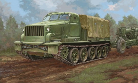 Trumpeter - AT-T Artillery Prime Mover