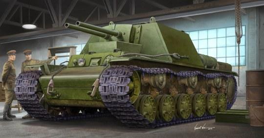 Trumpeter - Soviet KV-7 (Object 227)