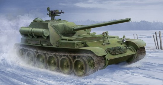 Trumpeter - Soviet SU-101 SPA