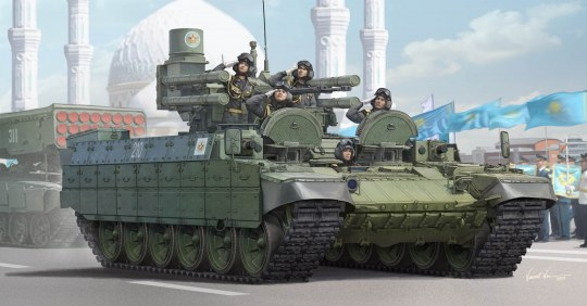 Trumpeter - Kazakhstan Army BMPT