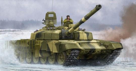 Trumpeter - Russian T-72B2 MBT