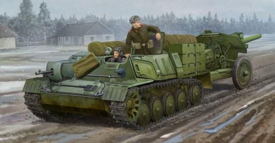 Trumpeter - Soviet AT-P artillery tractor
