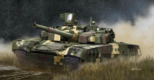 Trumpeter - Ukrainian T-84BM Oplot MBT