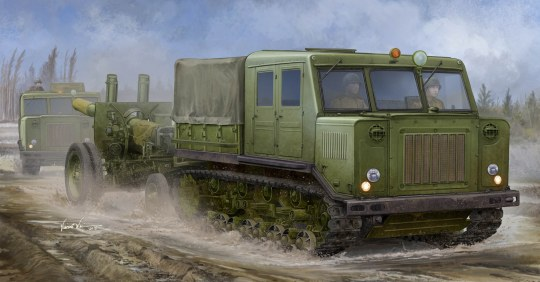 Trumpeter - Russian AT-S Tractor