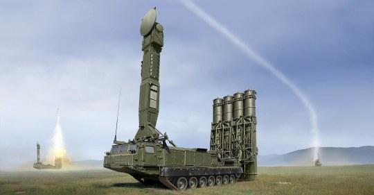 Trumpeter - Russian S-300V 9A83 SAM