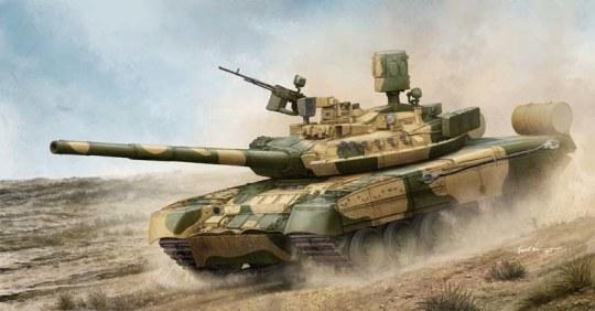 Trumpeter - Russian T-80UM MBT