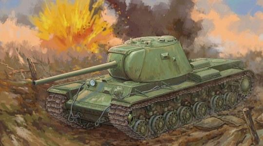 Trumpeter - Russian KV-3 Heavy Tank