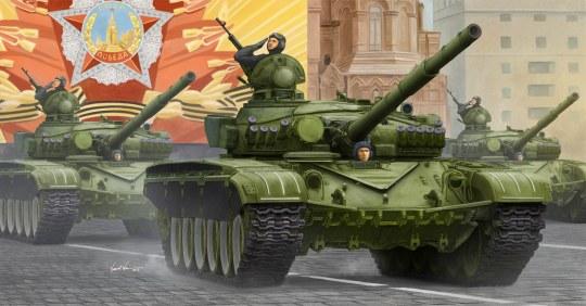 Trumpeter - T-72A Mod1983 MBT