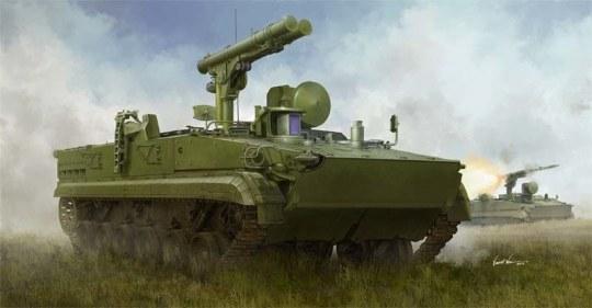 Trumpeter - Russian 9P157-2 Khrizantema-S Anti-tank system