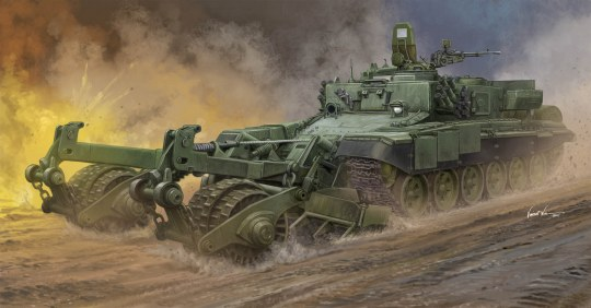 Trumpeter - Russian Armored Mine-Clearing Vehicle BMR-3