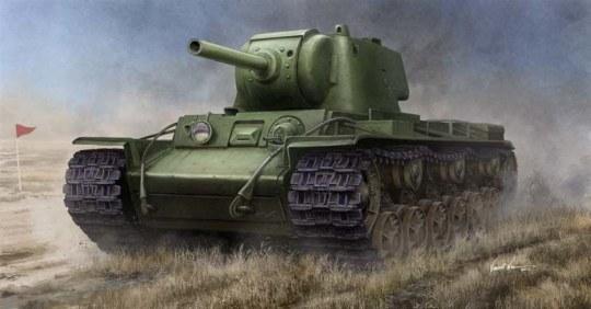 Trumpeter - Russian KV-9 Heavy Tank