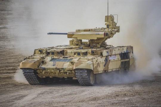 Trumpeter - Russian Obj199 BMPT Ramka w ATGM launche ATAKA