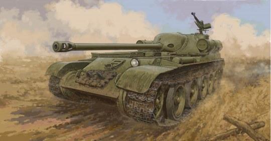 Trumpeter - Soviet SU-102 SPA