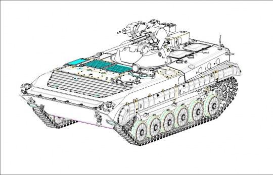 Trumpeter - BMP-1 Basurmanin IFV