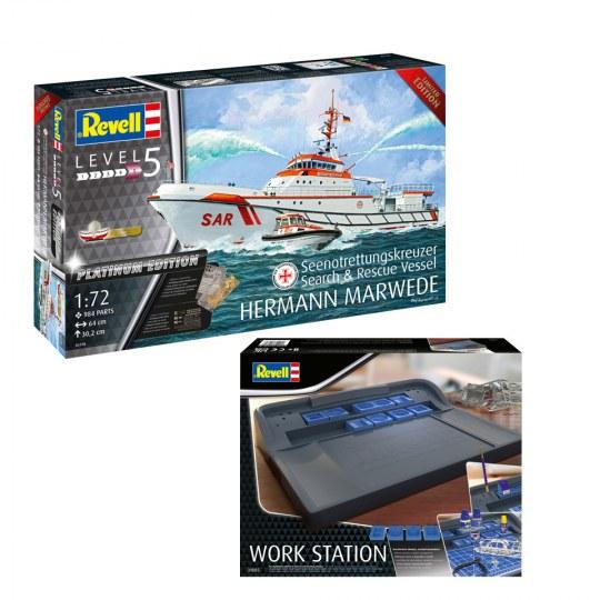 Model Set Search & Rescue Vessel HERMANN MARWEDE