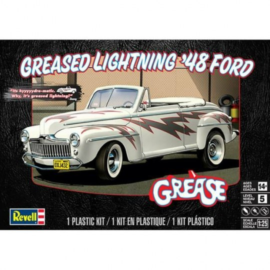 Greased Lightning 48 Ford Conver