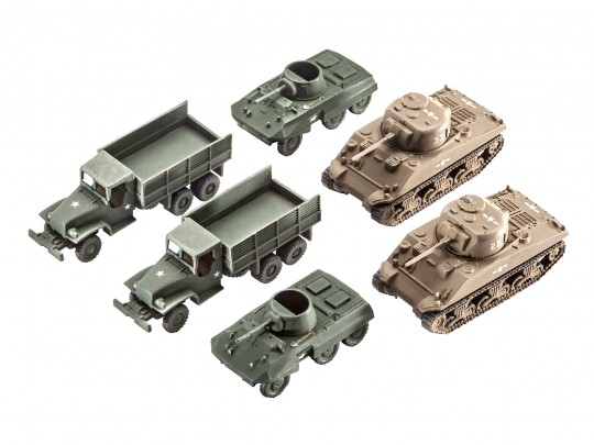 US Army vehicles WWII