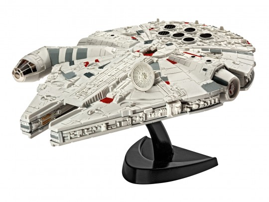 Millennium Falke Raumschiff als Modell