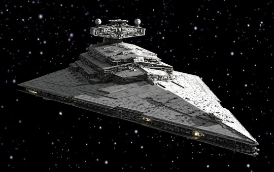 Model Set Imperial Star Destroyer
