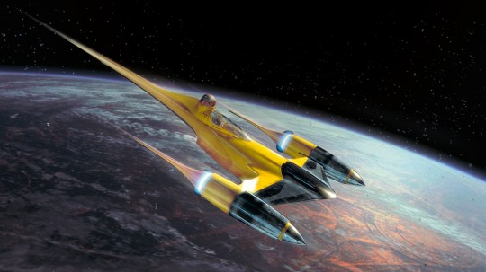 Model Set Naboo Starfighter