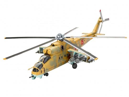 Model Set Mil Mi-24D Hind