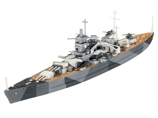Model Set Battleship Scharnhorst