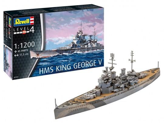 Model Set HMS King George V
