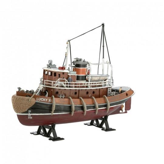 Model Set Harbour Tug Boat