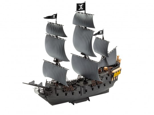 Modellbau Piratenschiff Black Pearl